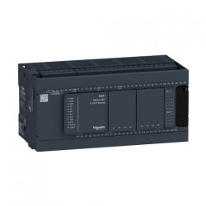 PLC SCHNEIDER ELECTRIC TM241C40T, 24DI/16DO, iesiri tranzistor, port serial (RJ45), alimentare 100-240 VAC