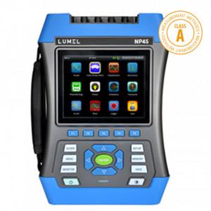Analizor portabil rețea electrică LUMEL NP45, CLASA A, măsurare parametri rețele trifazate și monofazate, maxim 1000A, memorie 32GB, ETHERNET, USB