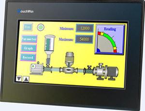 "HMI touch screen XINJE TP760-T, 7"", RS232/485/422"