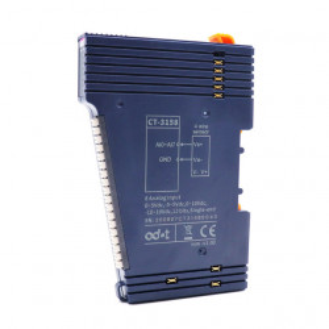 Modul de extensie I/O ODOT AUTOMATION SYSTEM CT-3158, 8 intrări analogice izolate optic, 0-5VDC/0-10VDC/±5VDC/±10VDC, 12Bit, indicator led pentru fiecare intrare