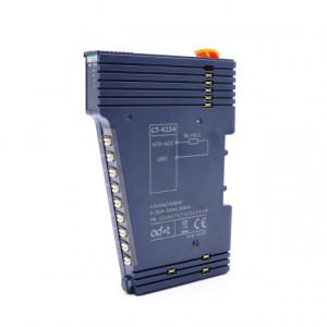 Modul de extensie I/O ODOT AUTOMATION SYSTEM CT-4234, 4 ieșiri analogice în curent, 0-20mA/4-20mA, indicator led pentru fiecare intrare