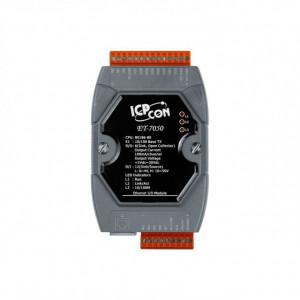 Modul I/O ICPDAS ET-7050, Ethernet, 12DI/6DO Modbus TCP, PoE
