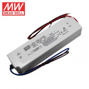 Sursa de alimentare MEAN WELL LPC-100-2100, protectie IP67, iesire 24 - 48V DC, 2.1A, 100.8W
