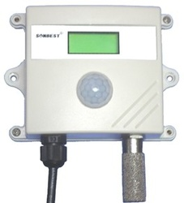 Traductor SONBUS SD2191B, masurare temperatura, umiditate si iluminare, cu afișaj local