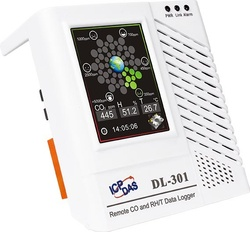 Data logger ICPDAS DL-301, temperatura, CO si umiditate, Ethernet, touch screen