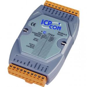 Modul I/O ICPDAS M-7060-G CR, 4 DI izolate/4DO, RS485, Modbus RTU