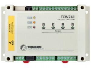 Modul I/O TERACOM TCW241, 4DI,4AI, 4 iesiri in releu, Ethernet, web API