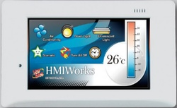 "PLC cu HMI, ICPDAS TPD-433F-H, touch screen 4.3"", Ethernet, RS485, RS232"