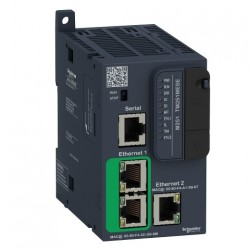 PLC SCHNEIDER ELECTRIC TM251MESE, server WEB, porturi Ethernet, port serial (RJ45), alimentare 24 VDC