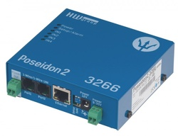 Poseidon2 3266 - Modul monitorizare IP temperatura/umiditate, 4 intrari digitale