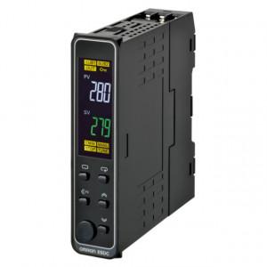 Regulator de temperatura OMRON E5DC-QX2ASM-002, RS-485, iesire SSR, montaj pe sina DIN, alimentare 100-240 VAC