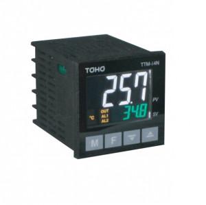 Regulator temperatura digital TOHO TTM-i4N-R-AB, intrare selectabila termocuplu sau termorezistenta, iesiri releu
