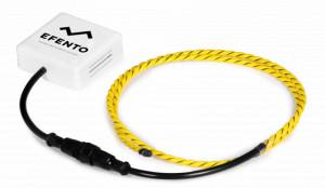 Senzor scurgere lichide cablu senzitiv EFENTO BLE/NB IoT-LR, NB IoT sau BLUETOOTH, data logger memorie 60000 de înregistrări, alimentare cu baterii