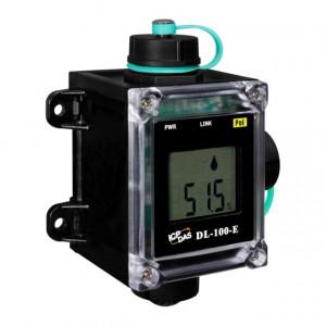 Traductor ICPDAS DL-100-E, masurare temperatura si umiditate, logger, IP66, RS485, alimentare PoE