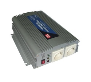 Convertor DC/AC MEAN WELL A301/302-1K0-F3, iesire sinusoidala modificata, 1000W