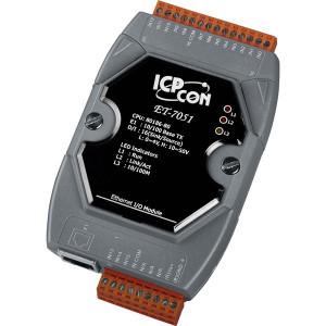 Modul I/O ICPDAS ET-7051 CR, 16 DI izolate, Modbus TCP