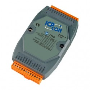 Modul I/O ICPDAS M-7045-G, 16DO, RS485, Modbus RTU