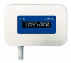 Data logger de temperatura si umiditate LUMEL HT20, memorie interna 8GB, Ethernet, Modbus TCP, HTTP, FTP
