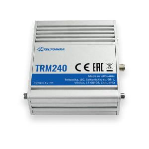 Modem GSM 4G TELTONIKA TRM240, comenzi AT, M2M, micro USB, carcasa metalica