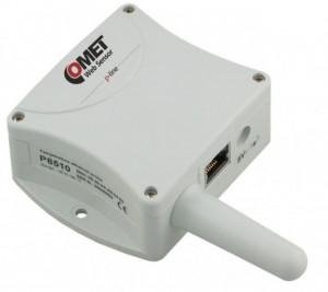 Traductor Ethernet COMET SYSTEM P8510, senzor de temperatura incorporat