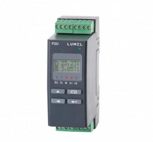 Traductor LUMEL P30U, MODBUS, intrare universală de temperatură/curent/tensiune, ieșire 4-20mA, RS485