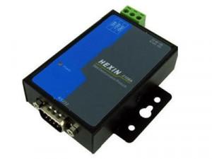 Convertor HEXIN HXSP-2108A, RS232 la RS485/RS422 industrial, cu izolare optica