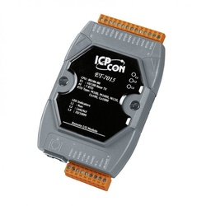 Modul I/O ICPDAS ET-7015, 7 intrari termorezistenta sau termocuplu, Modbus RTU