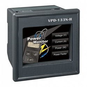 "PLC cu HMI ICPDAS VPD-133N-H, touch screen 3.5"", Ethernet, extensie I/O, RS485, RS232"