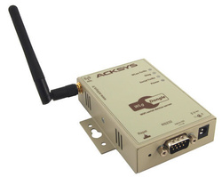 Convertor serial RS232-WiFi industrial, interfata web