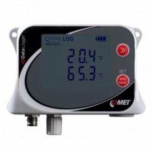 Data logger COMET SYSTEM U0121, masurare temperatura, pana la 500000 inregistrari, protectie IP67, 2 intrari PT1000