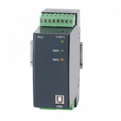Data logger LUMEL PD22, inregistrare multicanal, 390000 inregistrari, MODBUS, RS485