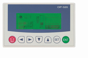 """HMI XINJE OP320-S, afisaj LCD 3.7"""", monocrom, 7 taste, RS232/RS485,"""