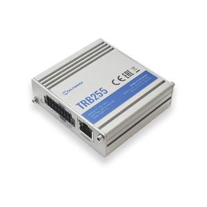 Modem GSM 4G TELTONIKA TRB255, gateway, NB-IoT, MODBUS, MQTT, GPS, Ethernet, RS232/RS485, intrari/iesiri digitale, intrare analogica, micro USB, carcasa metalica