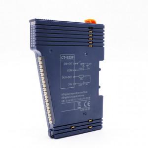 Modul de extensie I/O ODOT CT-623F, 8 intrări digitale și 8 ieșiri digitale, indicator led pentru fiecare intrare