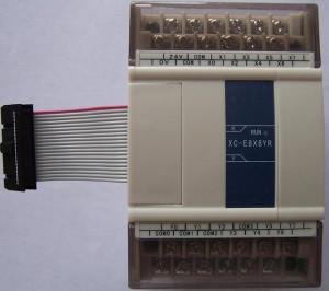 Modul extensie XINJE XC3-E8X8YT, intrari digitale si iesiri in tranzistor