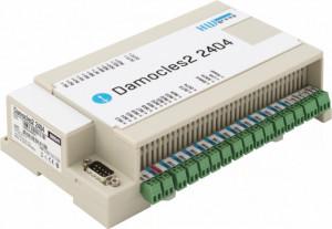 Modul I/O HW GROUP Damocles2 2404, 24DI, 4 iesiri in releu, SNMPv3, Modbus/TCP, MQTT, numarator de impulsuri, alarmare prin email si SNMP