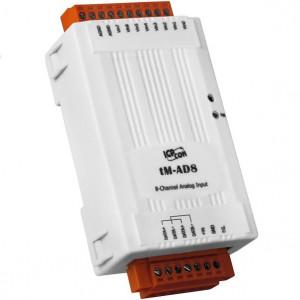 Modul I/O ICPDAS TM-AD8, 8AI, RS485, Modbus RTU