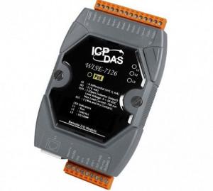 Modul I/O inteligent ICPDAS WISE-7126, 2DI/4DO/8AI/2AO, Ethernet PoE, logică de control programabilă