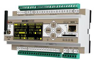 Modul I/O INVENTIA MT-156, 10 AI PT1000/2AI 4-20mA/12DO, dual SIM 3G, Ethernet, RS232/485, M-BUS, Modbus TCP/RTU