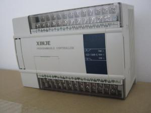 PLC XINJE XC3-19AR-C 9DI/10DO, 8AI/2AO, alimentare 24V DC