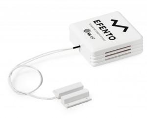 Senzor wireless detecție ușă deschisă EFENTO BLE/NB IoT-O, Bluetooth sau NB IoT, data logger memorie 60000 de înregistrări, material plastic, alimentare cu baterii