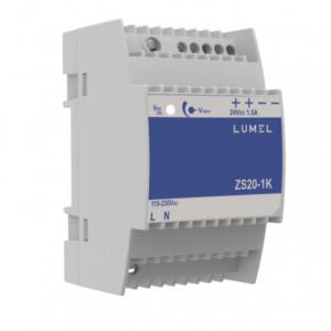 Sursa de alimentare LUMEL ZS20-1K, iesire 24V DC, 1.5A, 36W, montaj pe sina DIN