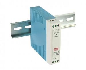 Sursa de alimentare MEAN WELL MDR-10-24, iesire 24V, 0.42A, 10W, montaj pe sina DIN