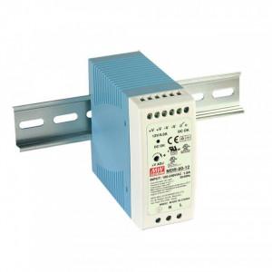 Sursa de alimentare MEAN WELL MDR-60-24, iesire 24V, 2.5A, 60W, montaj pe sina DIN