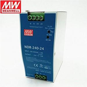 Sursa de alimentare MEAN WELL NDR-240-24, iesire 24V, 10A, 240W, montaj pe sina DIN