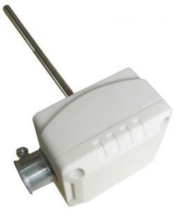 "Termistor 10k TEMCO CONTROLS DTS-PE-8-7, pentru conducte, carcasa plastic conector ½"" EMT, sonda 8"""