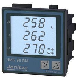 Analizor retea electrica Janitza UMG 96RM, comunicatie RS485, alimentare 24–90 VAC/24–90 VDC