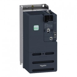 Convertizor de frecventa SCHNEIDER ELECTRIC ATV340D22N4E, 22KW, curent nominal 62A, Ethernet, module optionale, alimentare trifazata