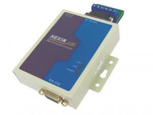 Convertor HEXIN HXSP-2108C, RS232 la RS485/RS422 industrial, cu izolare optica