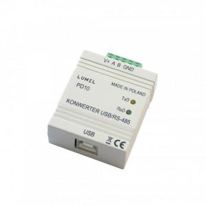Convertor LUMEL PD10, interfata USB la RS-485, izolatie galvanica
